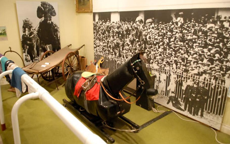 Try on some sporty silk racing gear and hop on the horse simulator in the hands-on gallery at the National Horse racing Museum in Newmarket. The scene is complete with a fence, crowd and the opportunity for a photo finish.