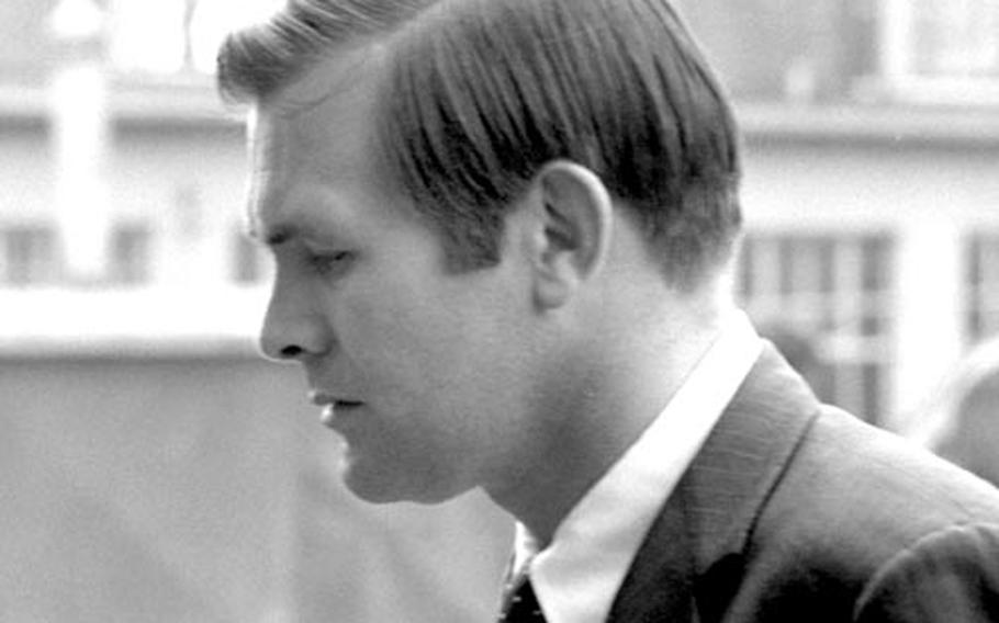 White House staffer Donald Rumsfeld.