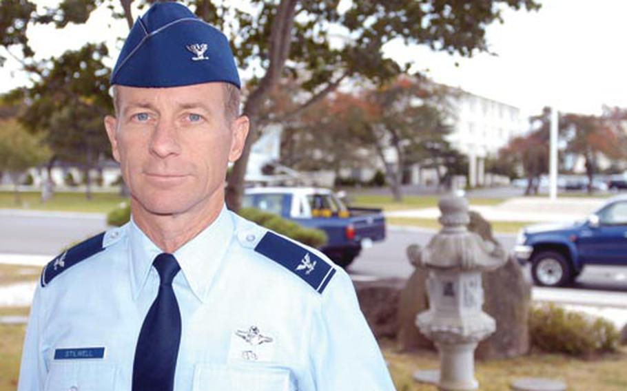 New 35th Fighter Wing Commander Col. David R. Stilwell believes in giving airmen responsibility and seeing what they do with it. In his second tour of Misawa, Stilwell hopes to encourage airmen to get out and see northern Japan.