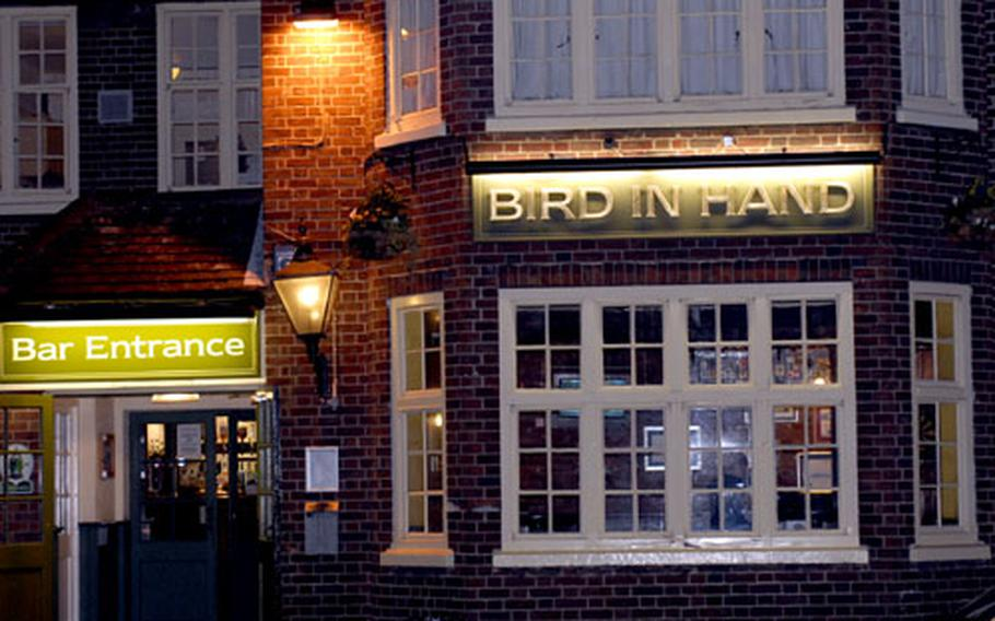 Bird In Hand has been a fixture outside of RAF Mildenhall for more than 60 years. It was used to house servicemen during World War II and servicemembers returning from Iraq and Afghanistan. Bird In Hand has a hotel, pub and restaurant.