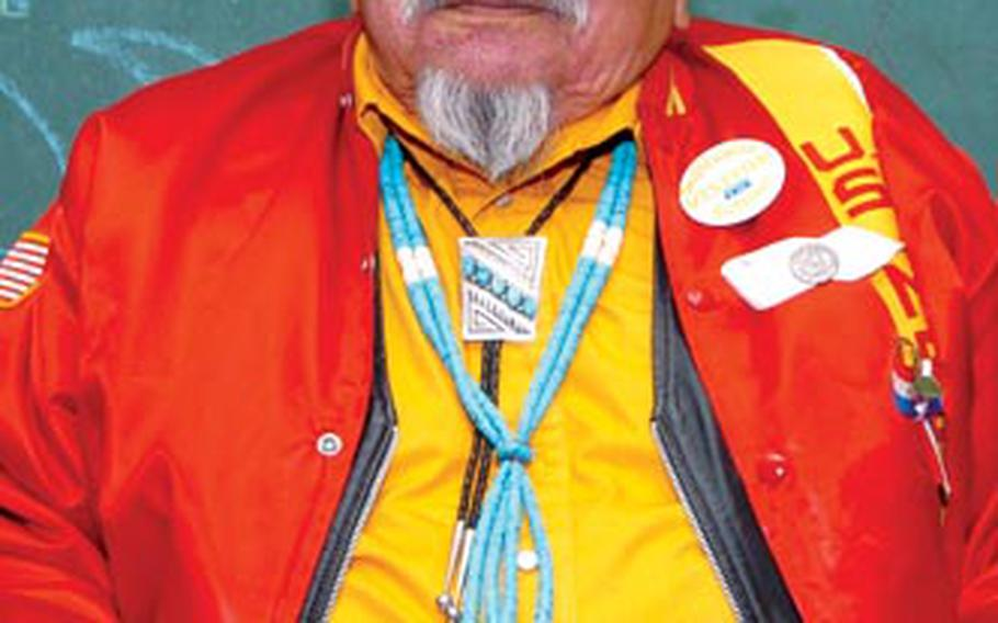Samuel Smith, 82, lied to recruits about his age to become a code talker during World War II.
