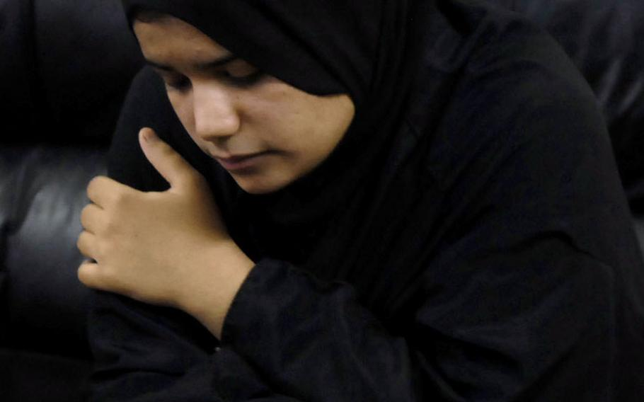 Rania al-Anbaqi, 15, was caught by Diyala province authorities wearing an explosive-laden vest in August. The province has had more than 20 female suicide bombers in the past year, more than any other Iraqi province.