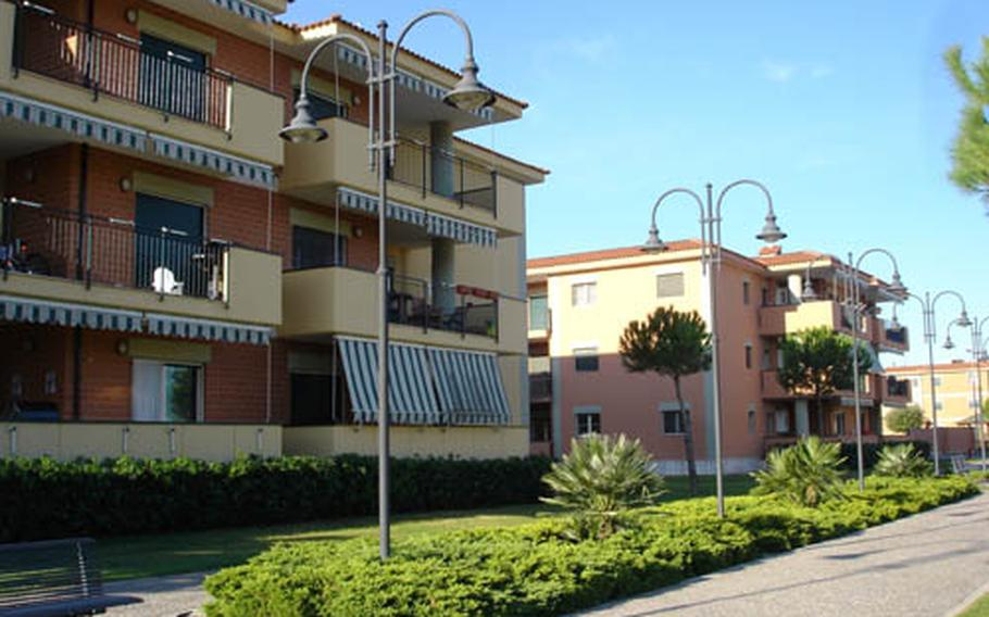 The Navy paid some $3.7 million in fiscal 2008 for apartments that sat vacant. Part of the problem might be that sailors moving to the area have the choice of living on or off base. The Navy will now allow single civilians to occupy apartments on Gricignano.