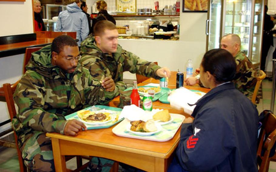 Diners at the Capo Landing are paying more after a price hike went into effect at the American Eatery, one of four food vendors at the Morale, Welfare and Recreation-managed facility.