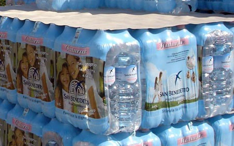 The Navy recently approved an additional $119,000 to purchase bottled water for servicemembers and civilians living off base in the Naples area.