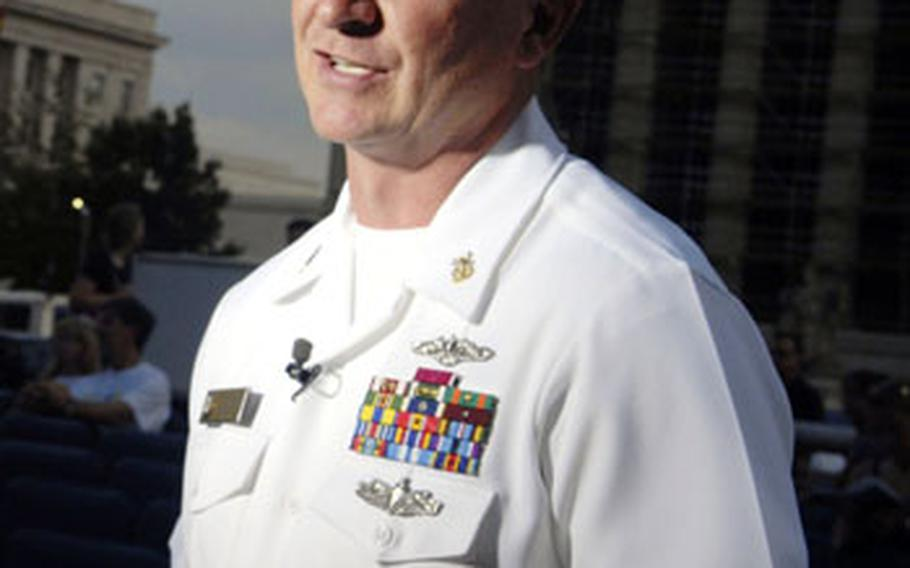 Fleet Master Chief Rick West, U.S. Fleet Forces Command, at the U.S. Navy Memorial in Washington, D.C., has been chosen to become the Navy's next Master Chief Petty Officer. He will assume the duties of the top enlisted sailor Dec. 13.