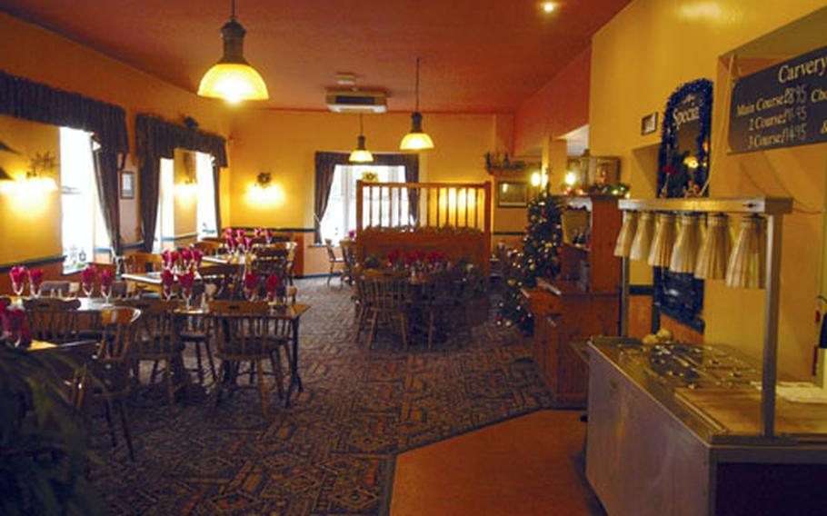 Judes Ferry pub in West Row, just a few minutes from RAF Mildenhall, offers spacious accommodation for holiday functions or a simple meal with the family.