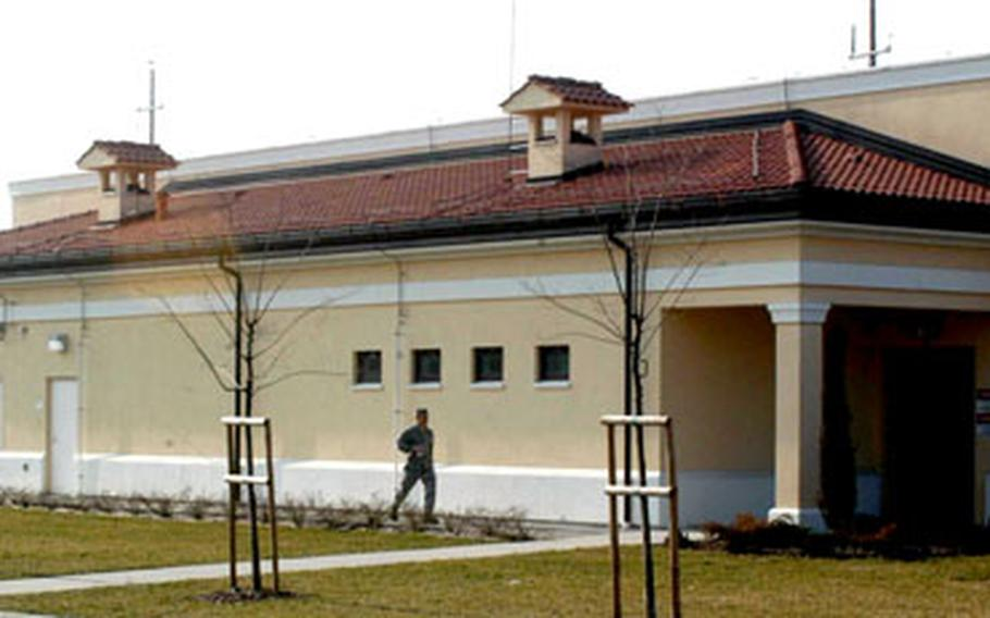 The indoor firing range at Aviano Air Base, Italy, completed in July 2004, has yet to be used. Base officials believe it doesn't meet Italian safety standards, though a certification team has yet to determine that.