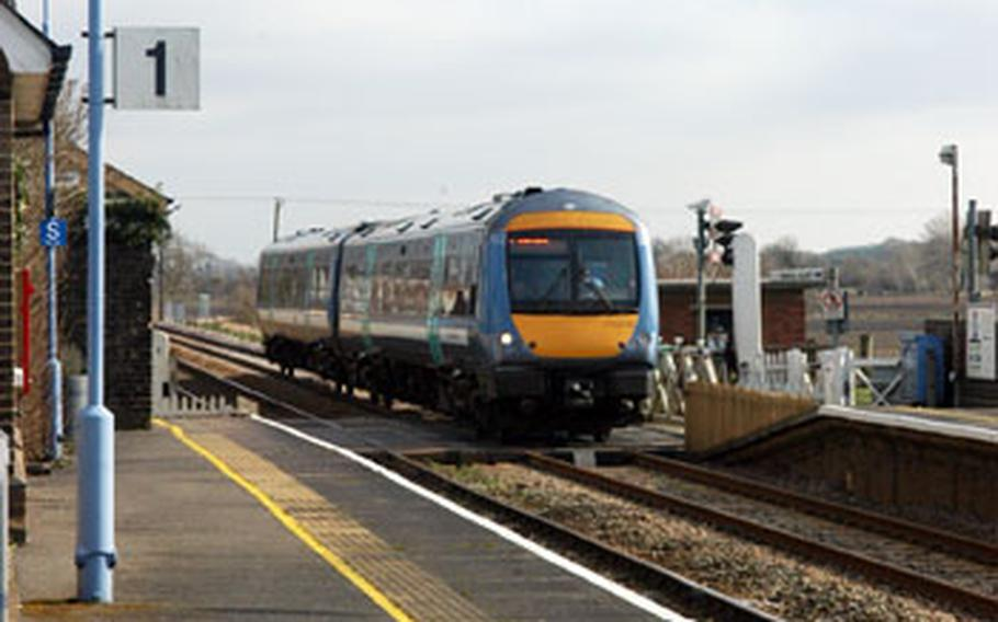 The train crossing on the B1112 between RAFs Lakenheath and Feltwell earned a dubious distinction last month as Network Rail listed it as Anglia's No. 1 spot for illegal crossings, when drivers and pedestrians try to cross the tracks as a train is approaching.