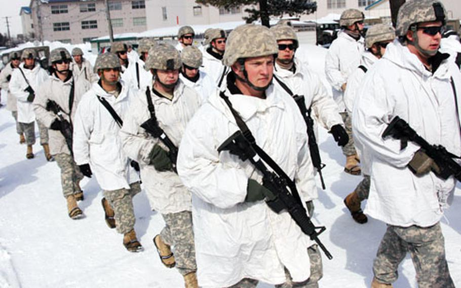 About 300 Kentucky National Guardsmen are participating in North Wind 2009, which began earlier this week in Sapporo, Japan.