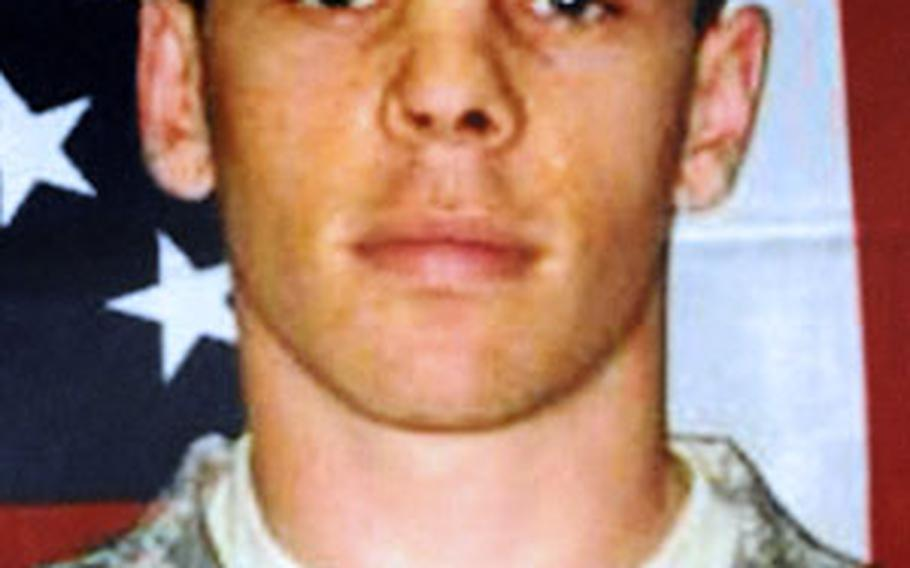 Army Spc. Brian M. Connelly, 26, was posthumously promoted to corporal.