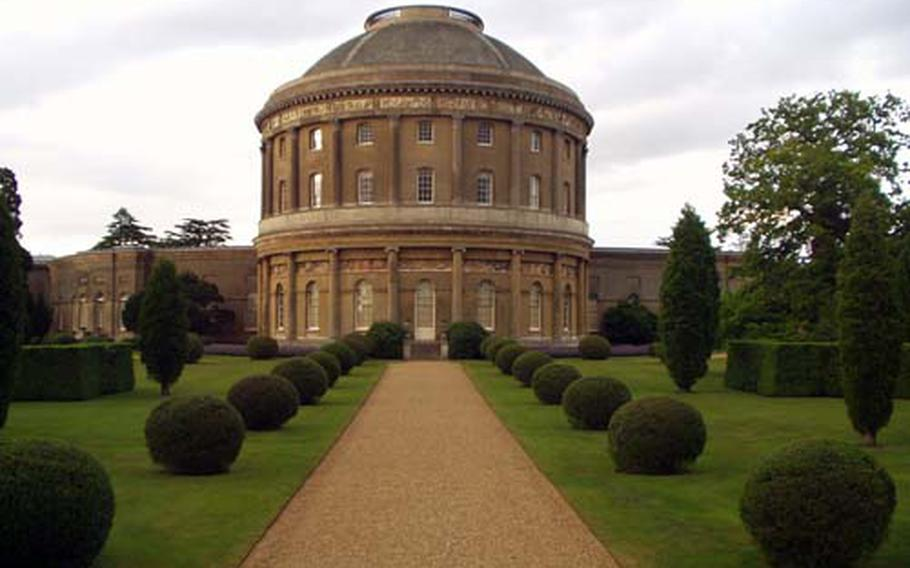 The Ickworth House on the Ickworth estate just outside of Bury St. Edmunds is the picturesque centerpiece of this 1,800-acre estate.