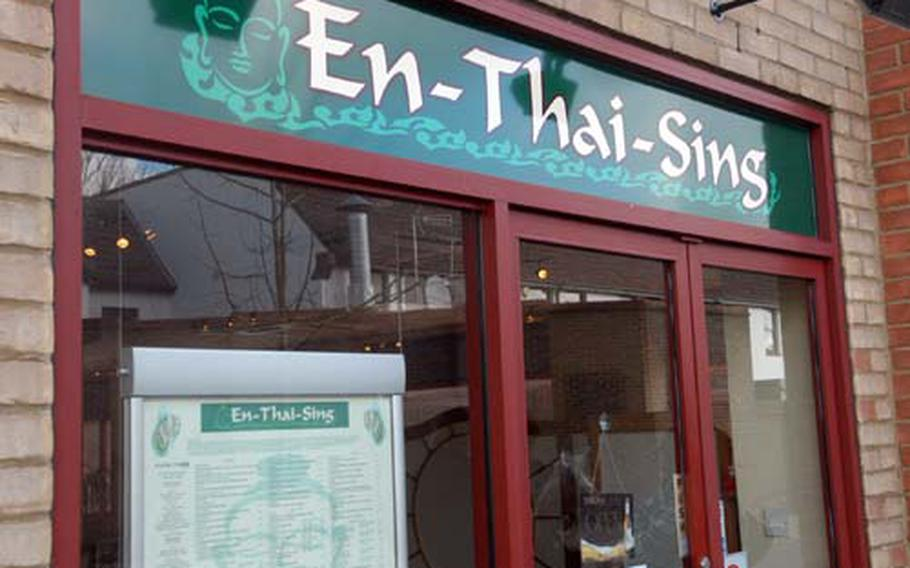 En-Thai-Sing in Mildenhall village offers affordable, authentic and freshly prepared Thai specialties. Watch out for that spice!