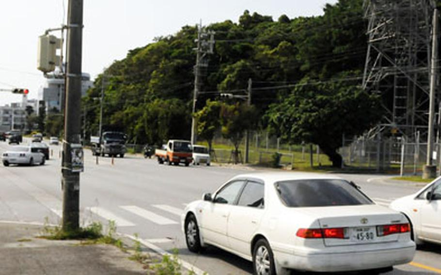 Camp Foster military police have warned drivers not to exit from the Facilities Maintenance parking lot one-way entrance across from the Spot Gate, as that location is a three-way intersection.