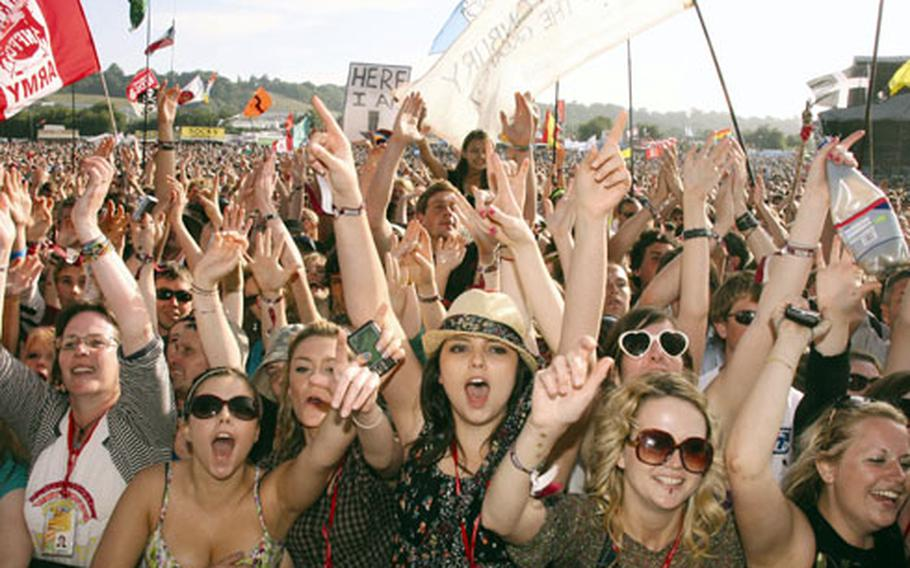 The Glastonbury Festival is the festival of all music festivals in the U.K., though some call it over-hyped.