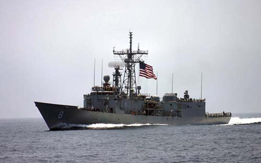The USS McInerney is slated for transfer to Pakistan following decommissioning from the U.S. Navy next year. The transfer takes place through the Navy's International Programs Office department of foreign military sales.