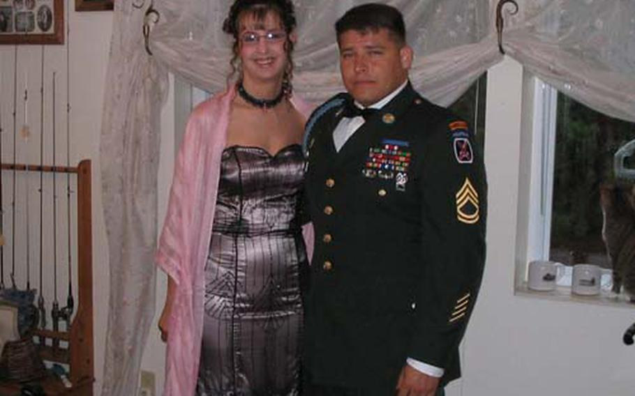 Crystal and John Trevino in the summer of 2005.