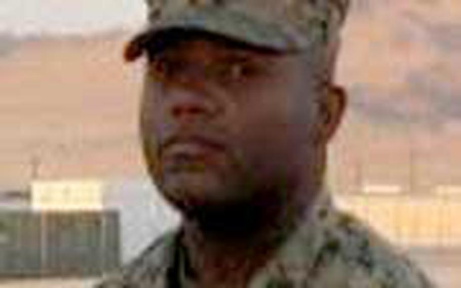 Gunnery Sgt. Edwin W. Johnson