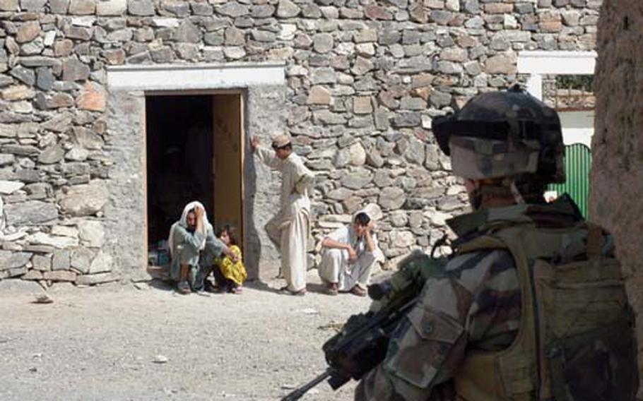 Sorting out friend from foe is one of the toughest challenges facing NATO forces in Afghanistan.