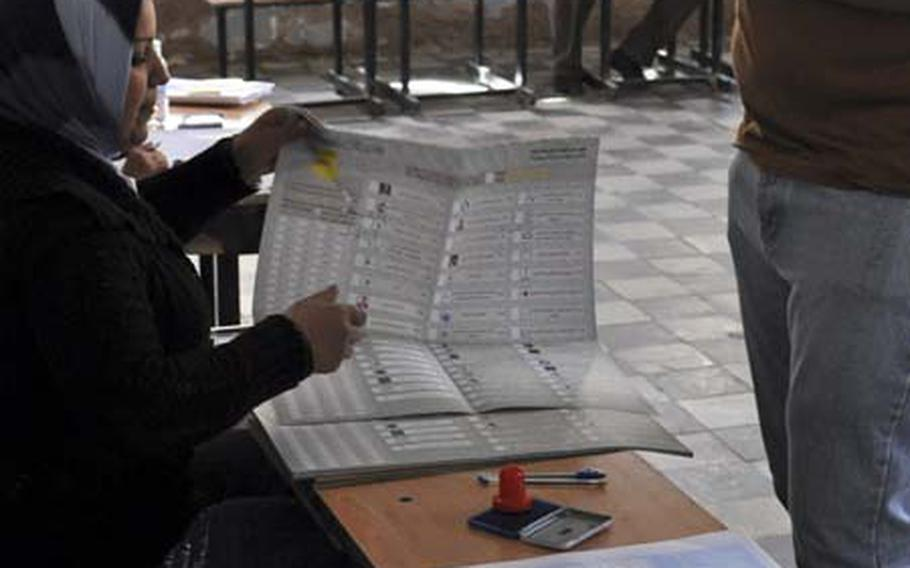Election officials reported low turnout in Baghdad on Sunday morning amid a series of explosions but said turnout increased as the day went on. Initial reports from elsewhere in Iraq indicated strong turnout, though it may be a day or two for the official numbers.