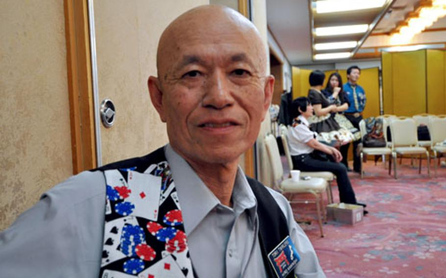 In square dancing, Hiromichi Kaminishi said he found a way to stay mentally and physically fit and a way to interact with the American community on the base.