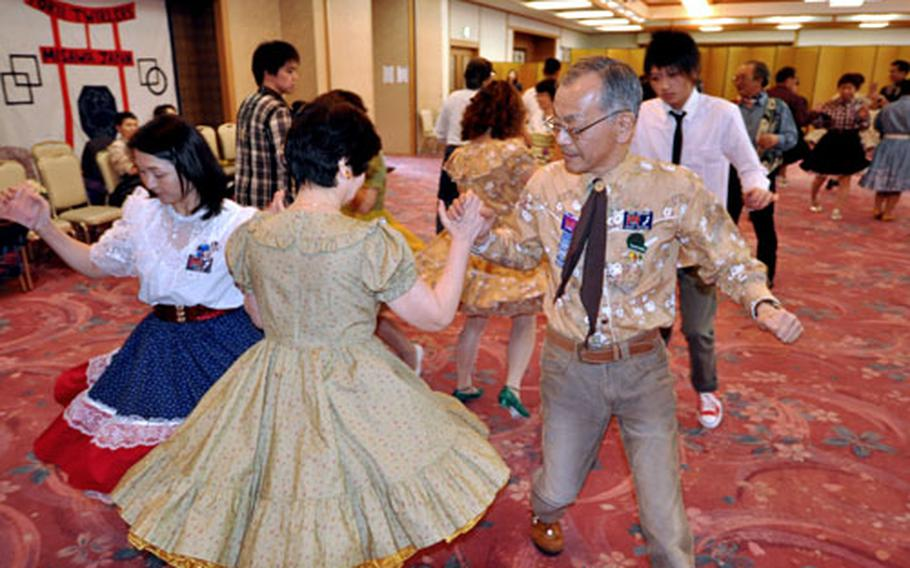 More than 100 square dancers from northern Japan — and a few from as far away as Tokyo — gathered for two days of dancing.