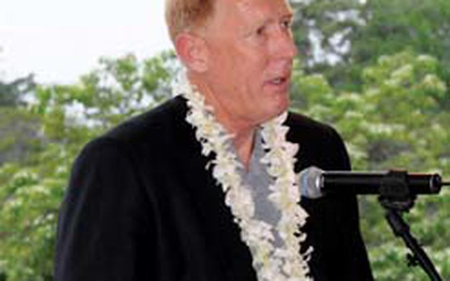Retired Col. David Brostrom.