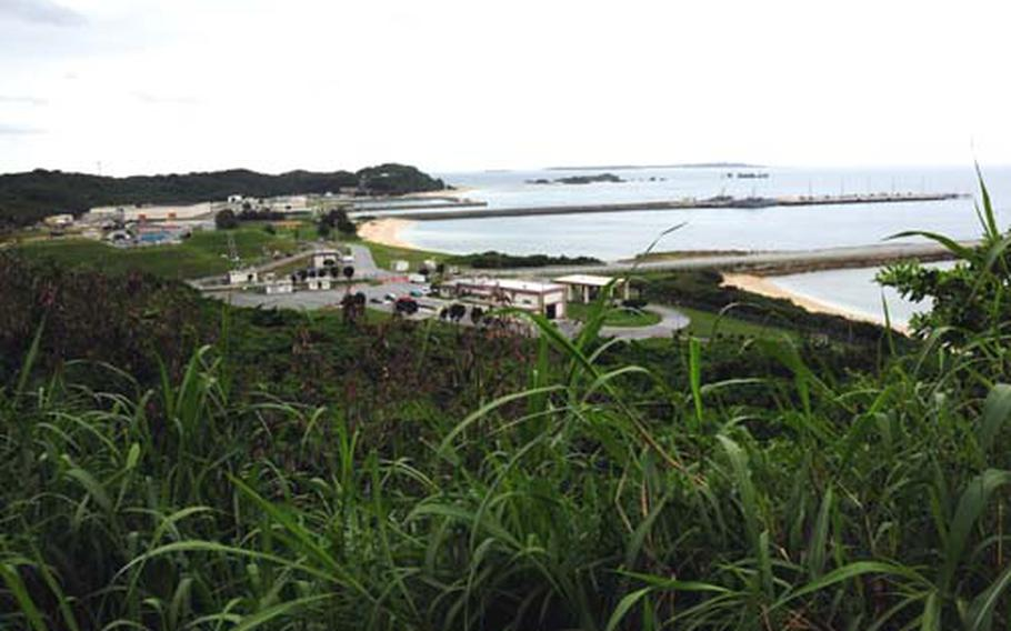 The Navy's White Beach port is one of several alternate sites being considered for relocating Marine Corps air units from Marine Corps Air Station Futenma.