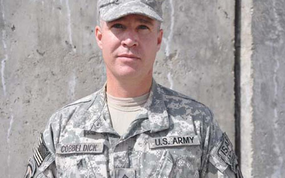 Staff Sgt. Bruce Cobbeldick
