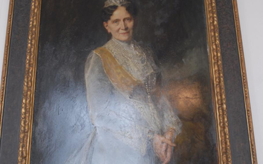 The last duchess to live in the Mannheim palace was Louise V of Baden, who lived from 1838 to 1923. The Baden family followed the Wittlesbach family, which built the palace in the 1700s.