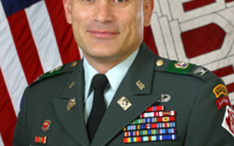 U.S. Army Col. Dionysios Anninos