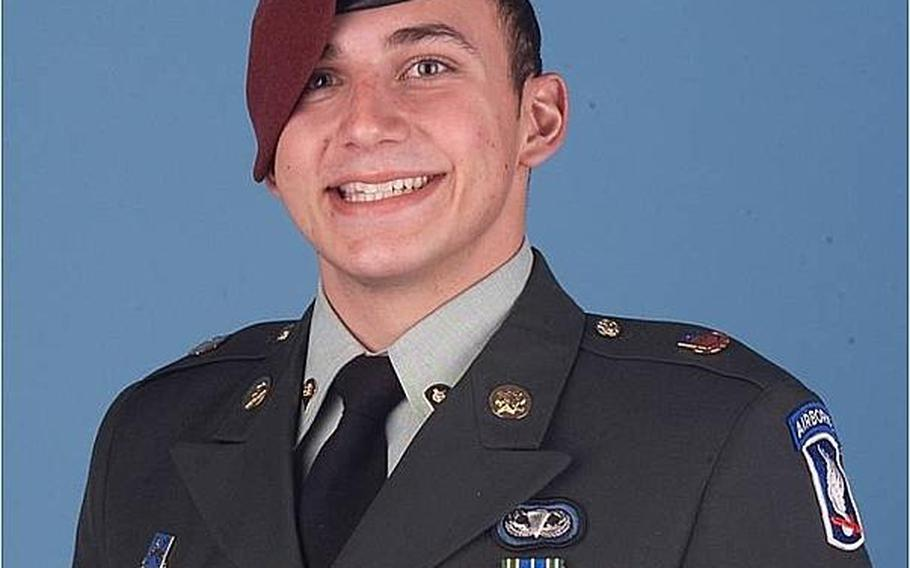 Spc. Matthew R. Hennigan of Las Vegas died at Forward Operating Base Shank, Afghanistan, of wounds suffered during a small-arms attack earlier in the Tangi Valley, according to the Defense Department.