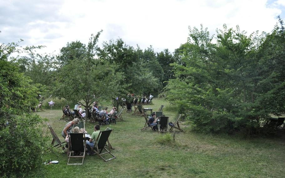 The  Orchard tea garden in Grantchester, England, has  been around  since the 19th century. To this day it offers a relaxing, very British locale just minutes outside Cambridge, where customers can have a drink and light meal in the open air. A nearby pavilion serves tea, scones and other treats.