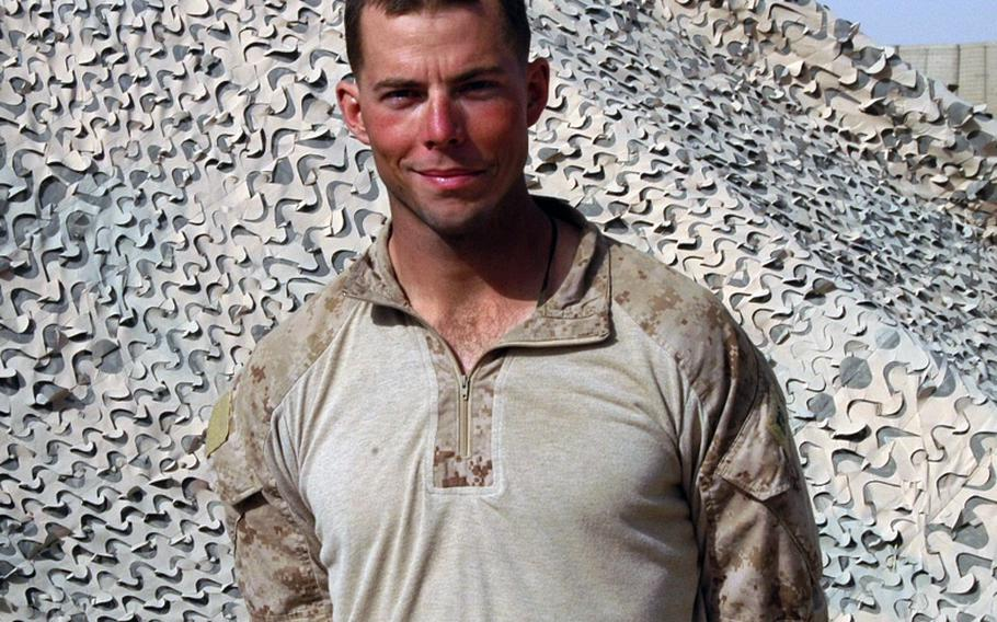 Capt. Nicholas Schmitz is 1st Platoon commander for the 2nd Battalion, 1st Marines' Echo Company, currently stationed at Patrol Base Hernandez in the southern Garmsir district of Afghanistan. Schmitz says patrolling the front lines in the war against the Taliban is more rewarding than other jobs he might have gotten being a Rhodes Scholar with a master's in philosophy from Oxford University.