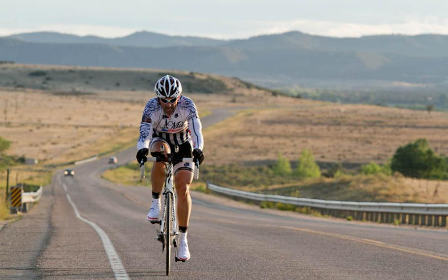 Wayne Dowd leaves the Rockies behind and heads toward the flat lands of eastern Colorado.