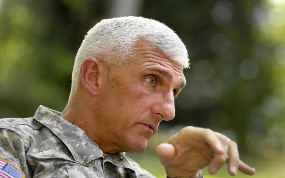 Lt. Gen. Mark Hertling, commander of U.S. Army Europe, during an interview with Stars and Stripes, says USAREUR's mission in Europe is still vital.