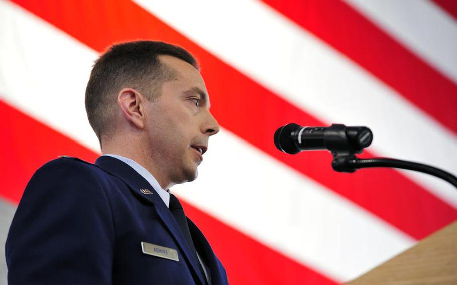 Lt. Col. Thom Adkins took command of the new 818th Mobility Support Advisory Squadron at Joint Base McGuire-Dix-Lakehurst, N.J., in April. The squadron is now training for its new mission, focused on providing air mobility training to partner nations in Africa. The squadron is expected to become operational by year?s end.