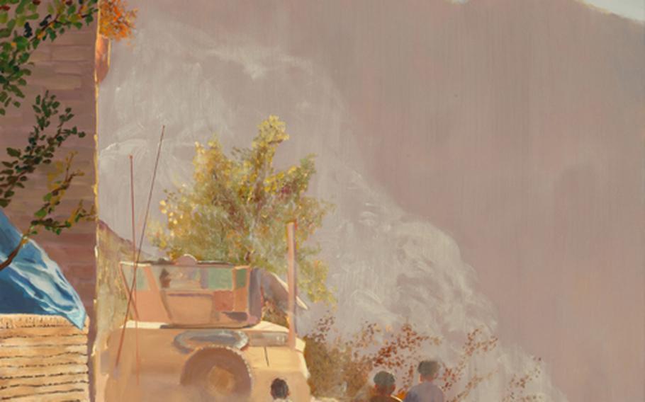 ''Treacherous Bends,'' by Army Master Sgt. Martin Cervantez. Afghanistan, 2009.