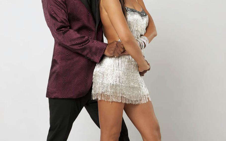 """J.R. Martinez is an Iraq War veteran, motivational speaker and actor on ABC's """"All My Children."""" He teams with Karine Smirnoff, who returns for her 10th season of """"Dancing with the Stars."""""""