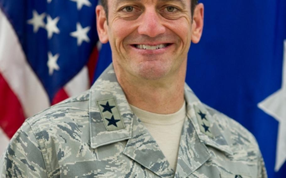 Air Force Maj. Gen. Russell Handy