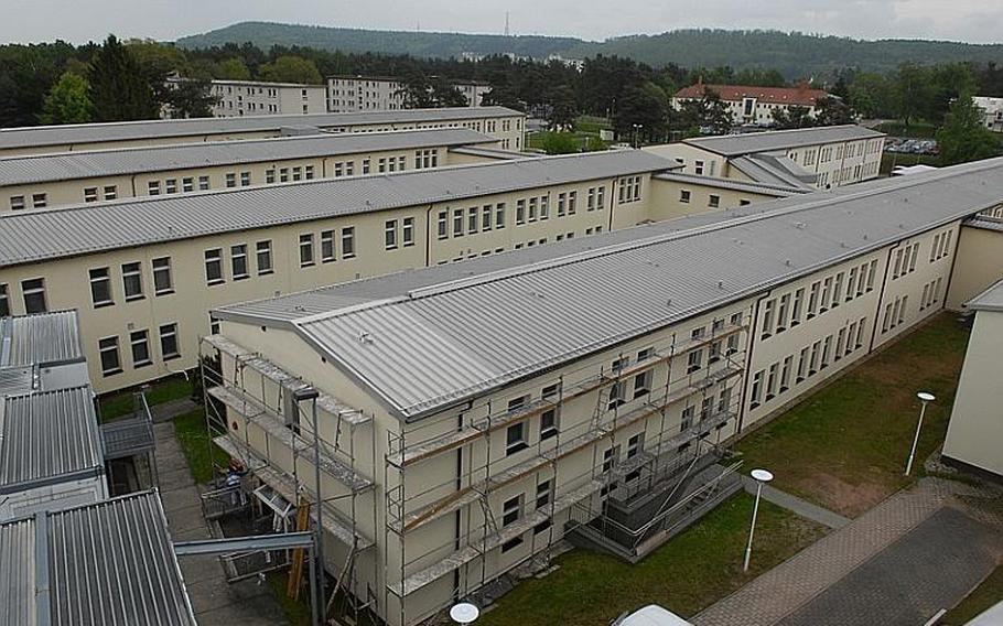 Landstuhl Regional Medical Center in Germany has a number of wings that were constructed in 1953 and have been refurbished numerous times since. The expansive hospital has three miles of hallways. The Defense Department wants to combine LRMC and the Air Force medical clinic on Ramstein Air Base into one location at an old Army depot near Ramstein in Weilerbach.