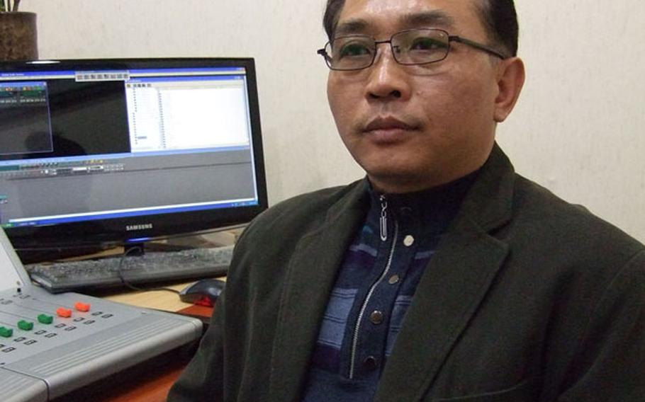 Son Jung Hun, president of the North Korean Vision Network, a group that helps North defectors assimilate into South Korean society.