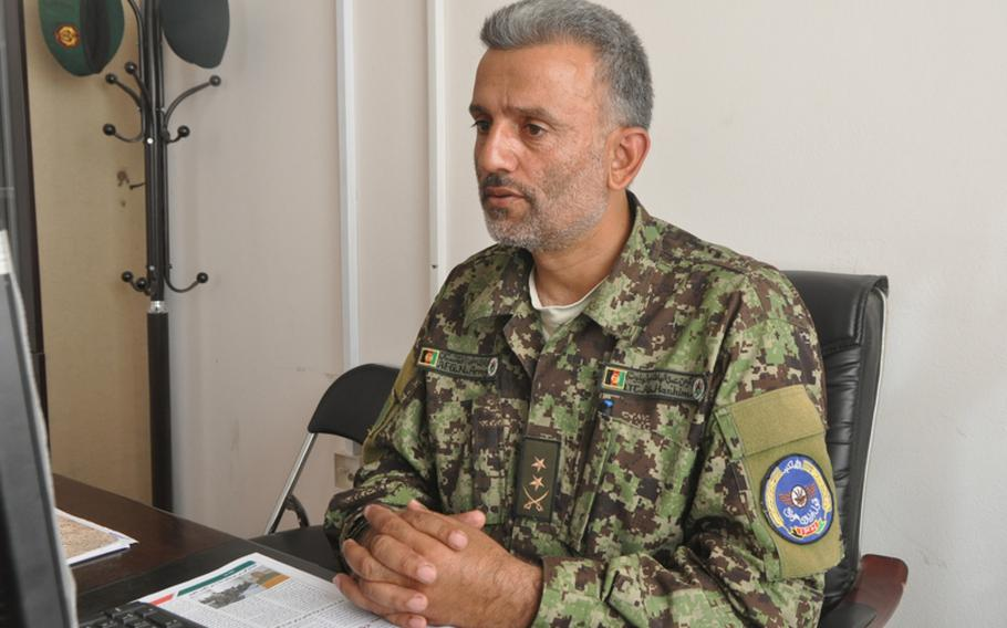 Lt. Col. Abdul Hashim is commander of the fixed-wing training program at the Afghan Air Force Academy, the country's first-ever pilot training program, which is being overseen by U.S. forces at Shindand Air Base. ''We want to be on our own,'' he said, referring to the Afghan military. ''But we are not ready to do everything.''