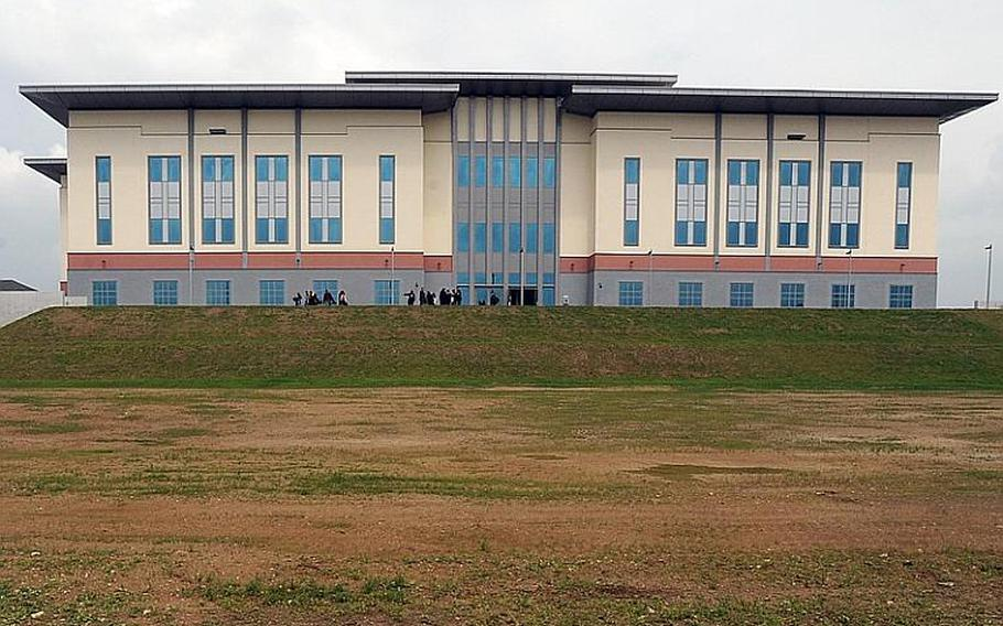 The $119 million, four-level, 285,000 square-foot General John Shalikashvili Mission Command Center, was dedicated Thursday at Lucius D. Clay Kaserne, the former Wiesbaden Army Airfield. The center is named after the former Chairman of the Joint Chiefs of Staff, who served multiple tours in Europe.