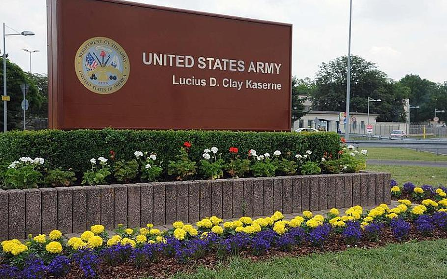 Wiesbaden Army Airfield, soon to be home to U.S. Army Europe, was renamed Lucius D. Clay Kaserne on Thursday. Clay, the military governor of the U.S. occupation zone in Germany, was the driving force behind the Berlin Airlift, where the first relief flight carrying food, coal, medicine and other supplies left from Wiesbaden in 1948 in response to a Soviet blockade of West Berlin.