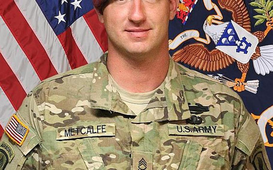 Sgt. 1st Class Daniel T. Metcalfe
