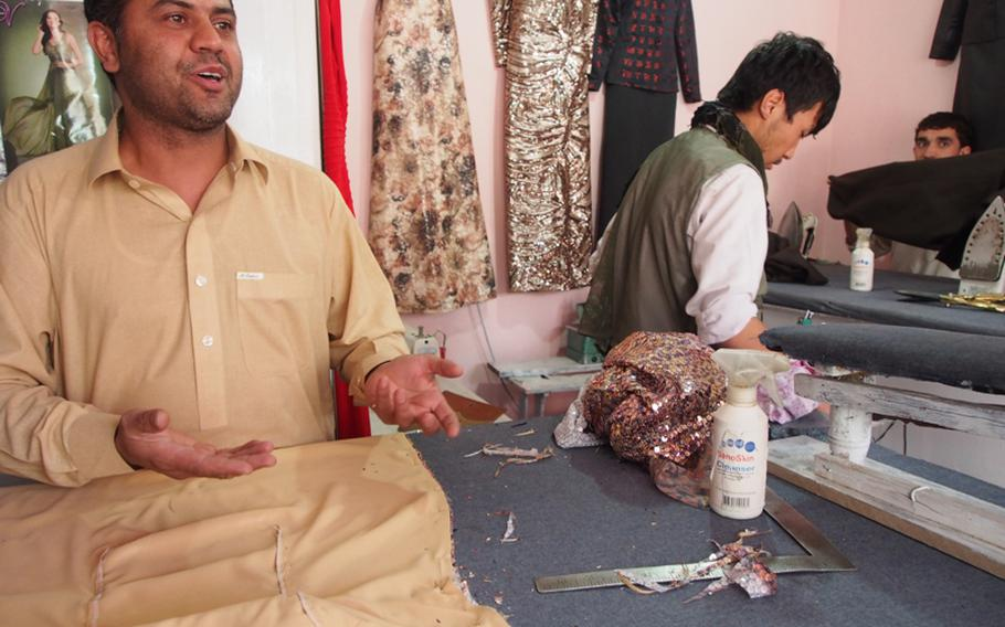 Abdul Wahid Kareem, a 35-year-old Kabul dress shop owner, wants Obama to focus more on bringing security to Afghanistan, and he worries the Afghan military cannot yet stand on its own.