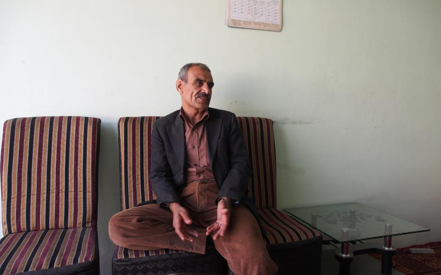 Waheedullah Rahimi, a 46-year-old real estate agent in Kabul, said he is happy Barack Obama was re-elected but hopes the president focuses more on negotiating a peace deal with the Taliban.