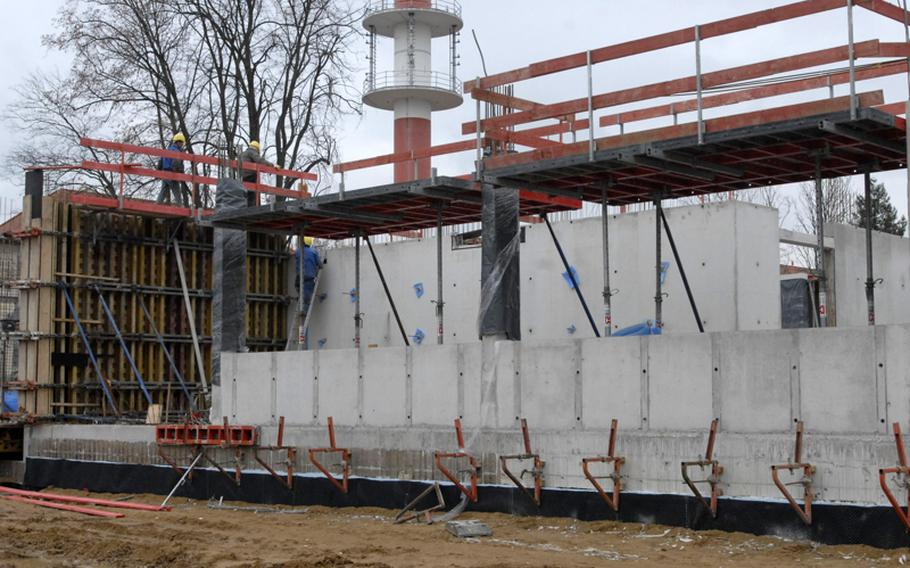 Construction on the $30.4 million Information Processing Center, one of three major operational facilities being built on Clay Kaserne, is expected to be complete in December of 2013, according to garrison officials in Wiesbaden, Germany.