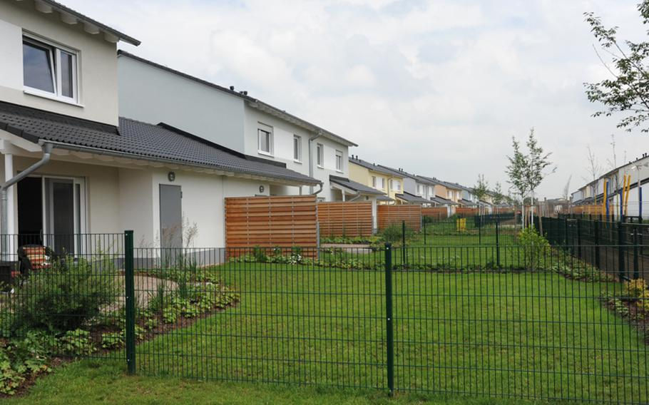 Servicemembers and their families have been moving into Newman Village Housing Area in Wiesbaden, Germany, since its grand opening in June. The $133 million housing area features 326 single-family and duplex townhouse units.